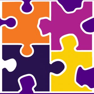 A graphic of puzzle pieces.