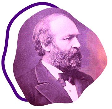 President Garfield portrait