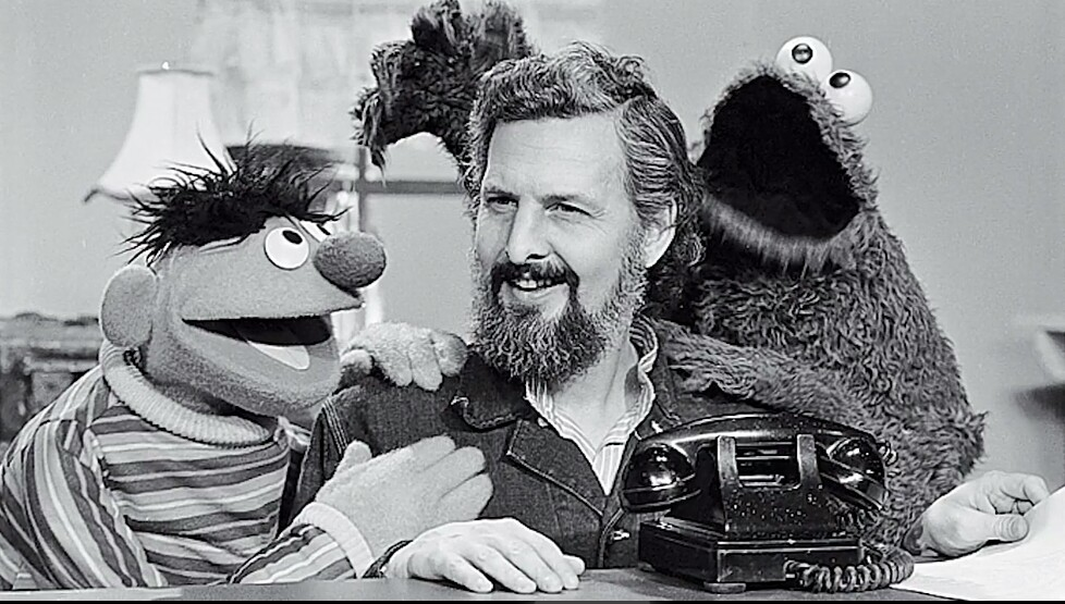 Photo: Jim Henson-The Muppet Master blog