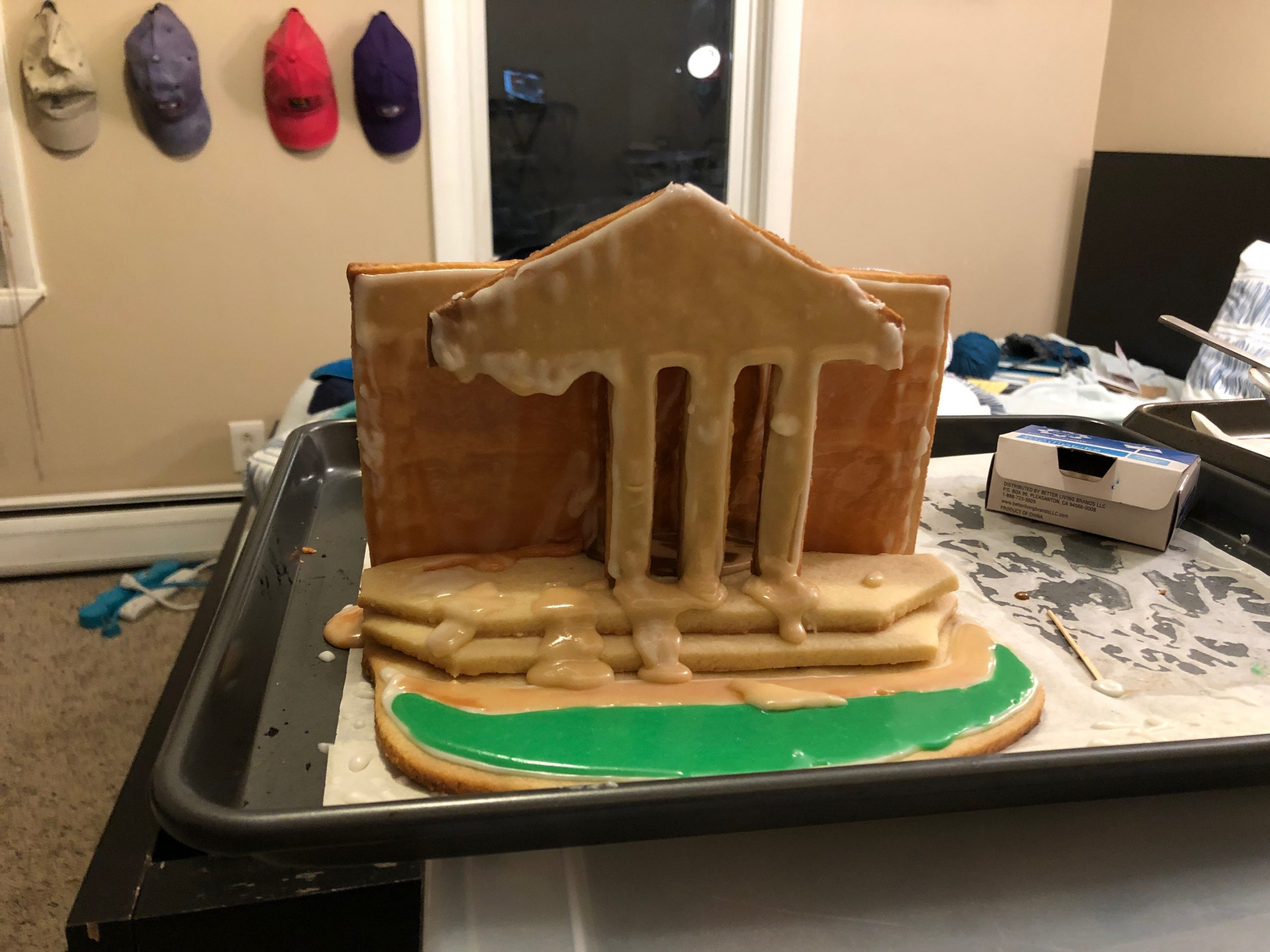 Chapin Hall in Gingerbread
