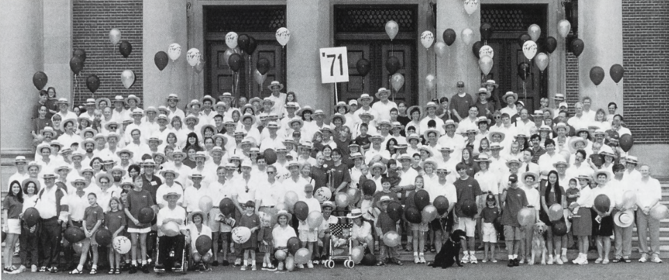 1971 25th Reunion Attendees
