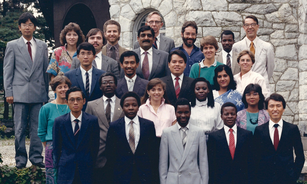 CDE graduates of the class of 1988