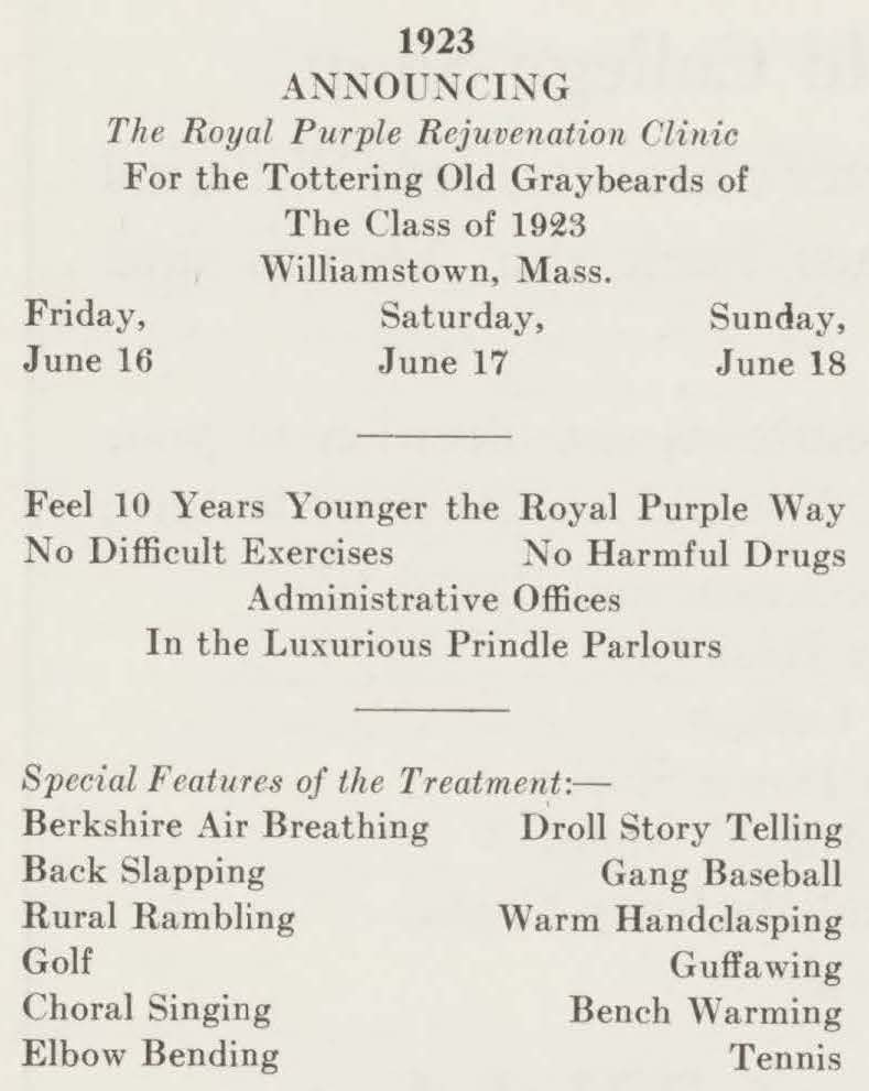 Clipping from 1933 Alumni Review