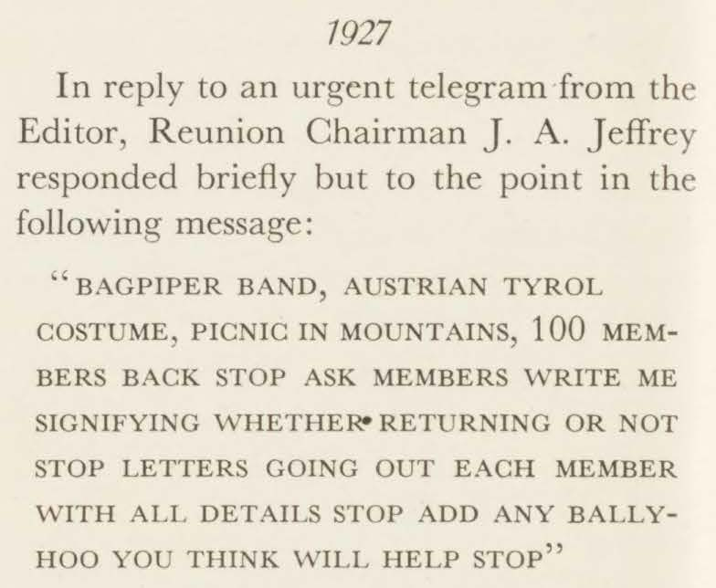 Clip from May 1937 Alumni Review