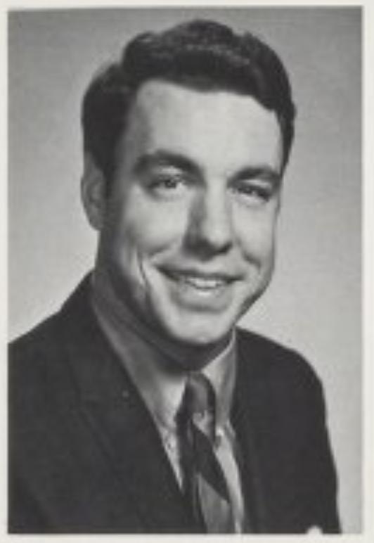 Bruce McNutt yearbook