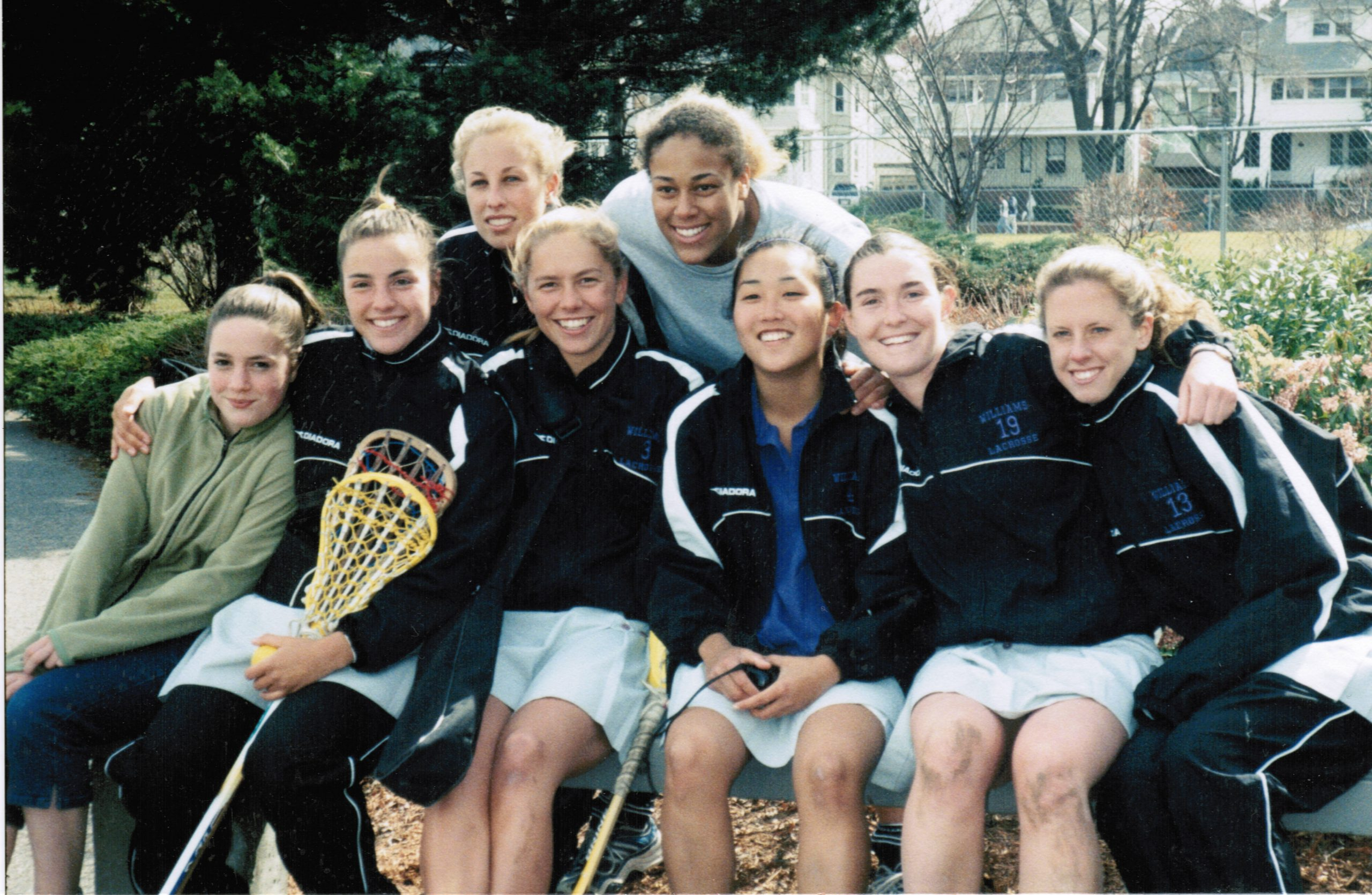 Women's Lacrosse Players from 2001