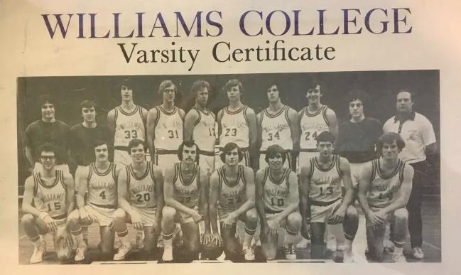 1976 Williams Basketball Team