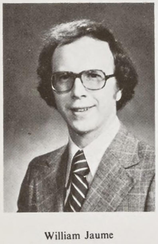 Bill Jaume Yearbook photo