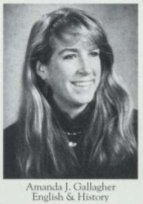 Amanda Gallagher Yearbook Photo