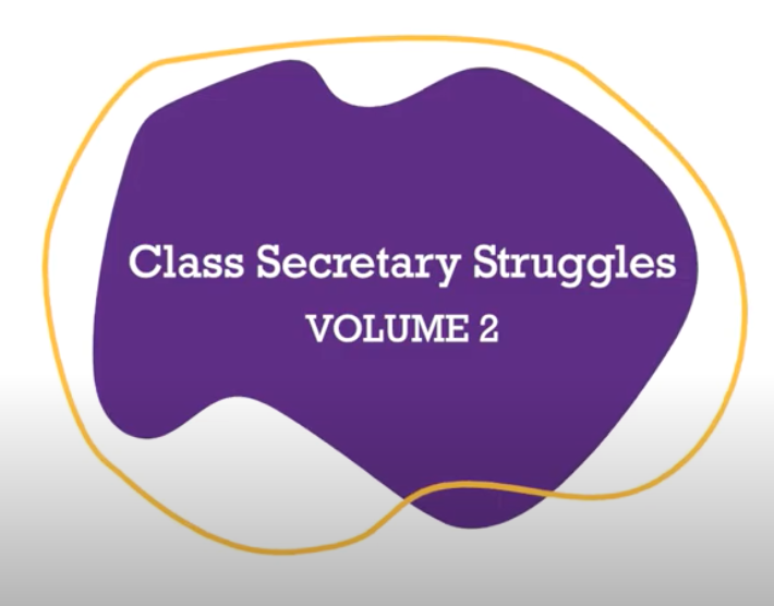Class Secretary Struggles Volume 2