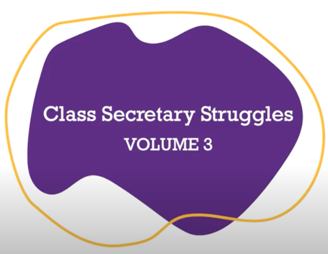 Class Secretary Struggles Volume 3