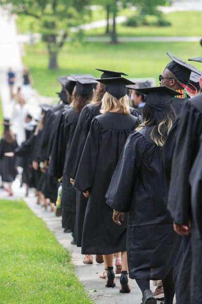2019 Williams Graduates at Commencement