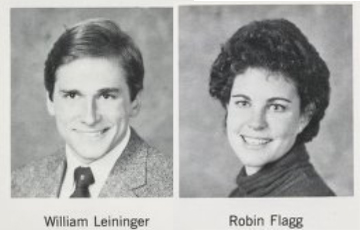 Robin and William yearbook photos