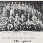 C David Petersen and his fraternity brothers