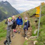 Herbet Ogden on a Williams travel trip in Switzerland