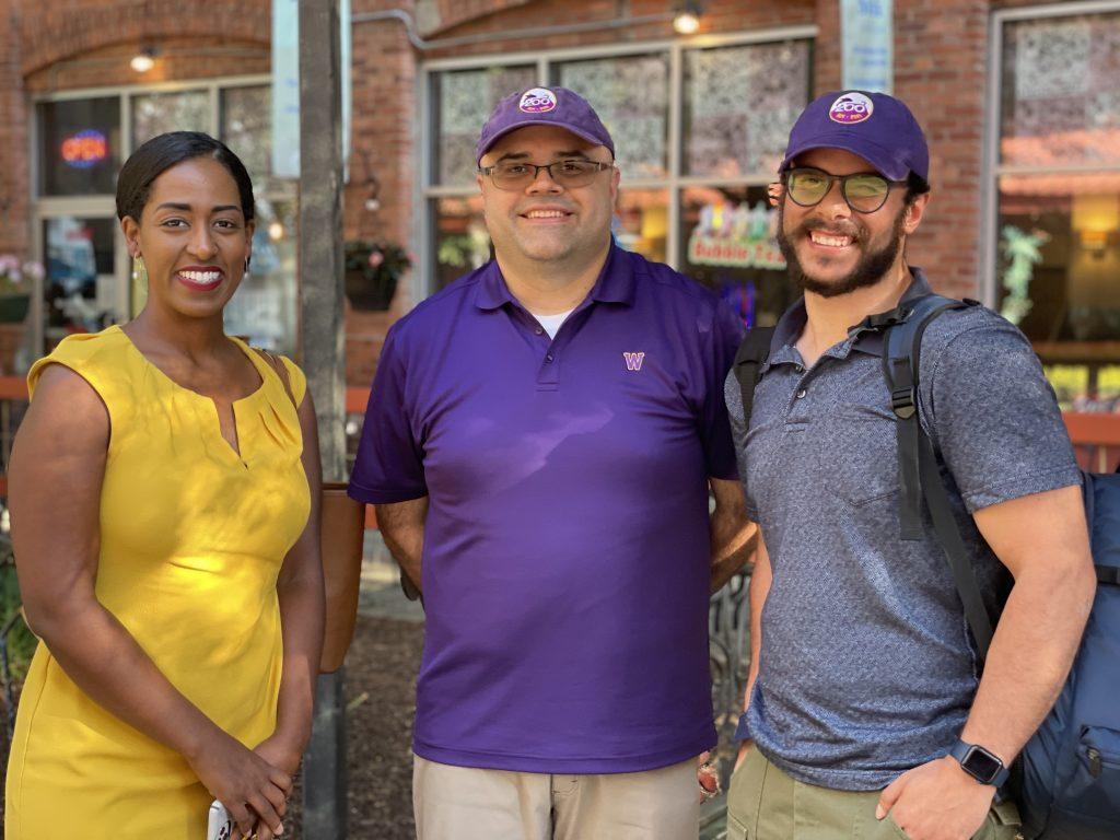Senator Brouk, Juan, and Mike.