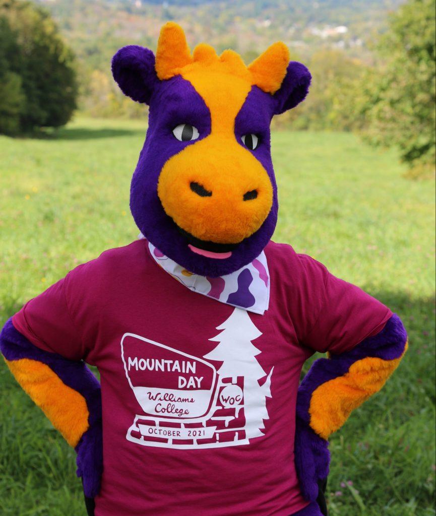 Purplecow in Mountain Day Shirt
