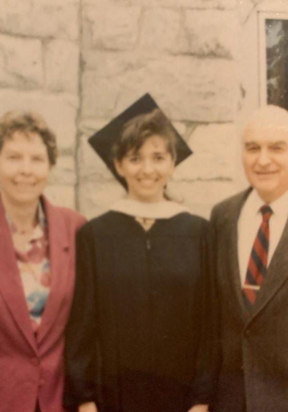 Charles, Nadine and Sandra