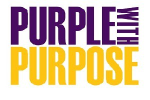 Purple with Purpose